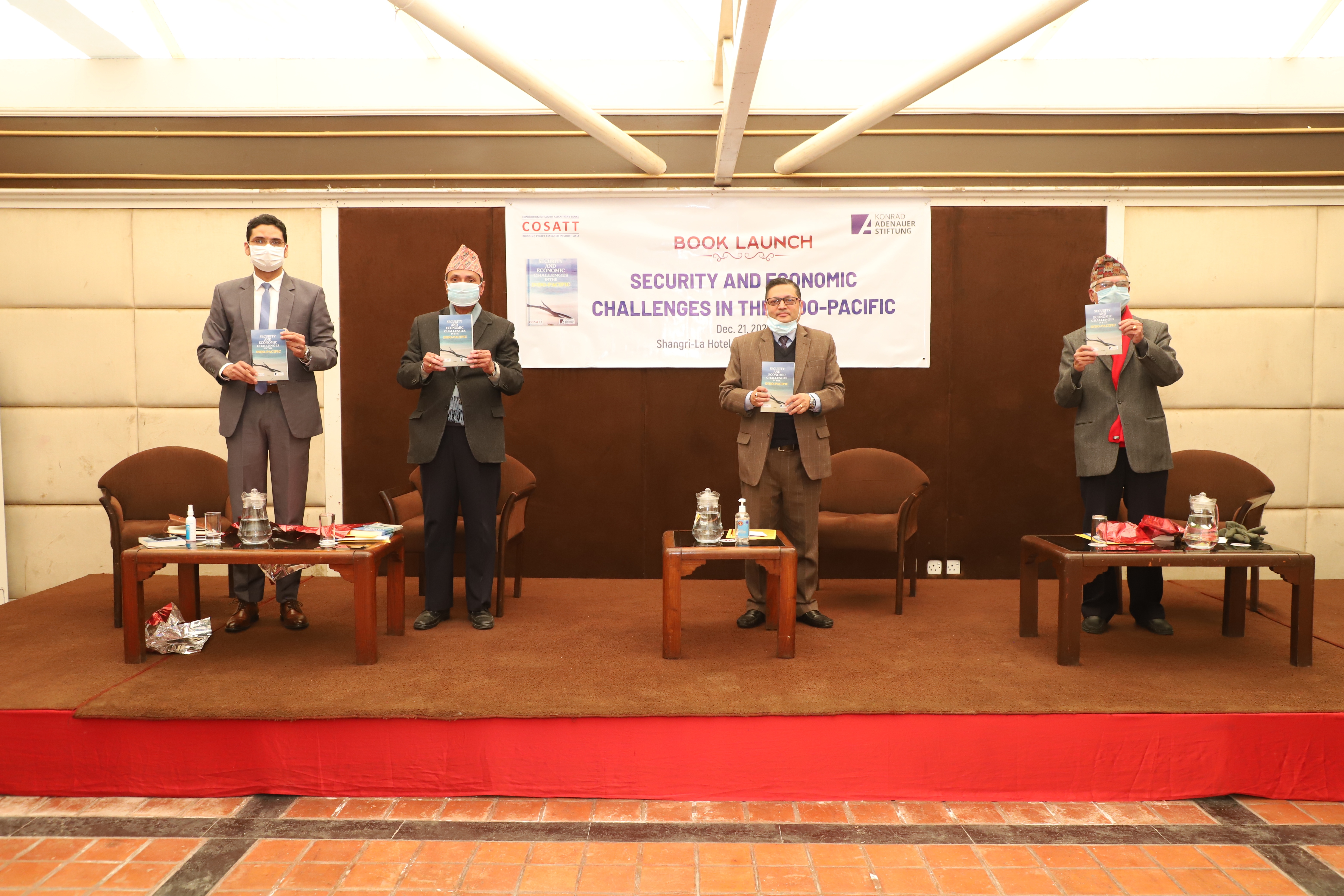 COSATT Book Security and Economic Challenges in the Indo-Pacific