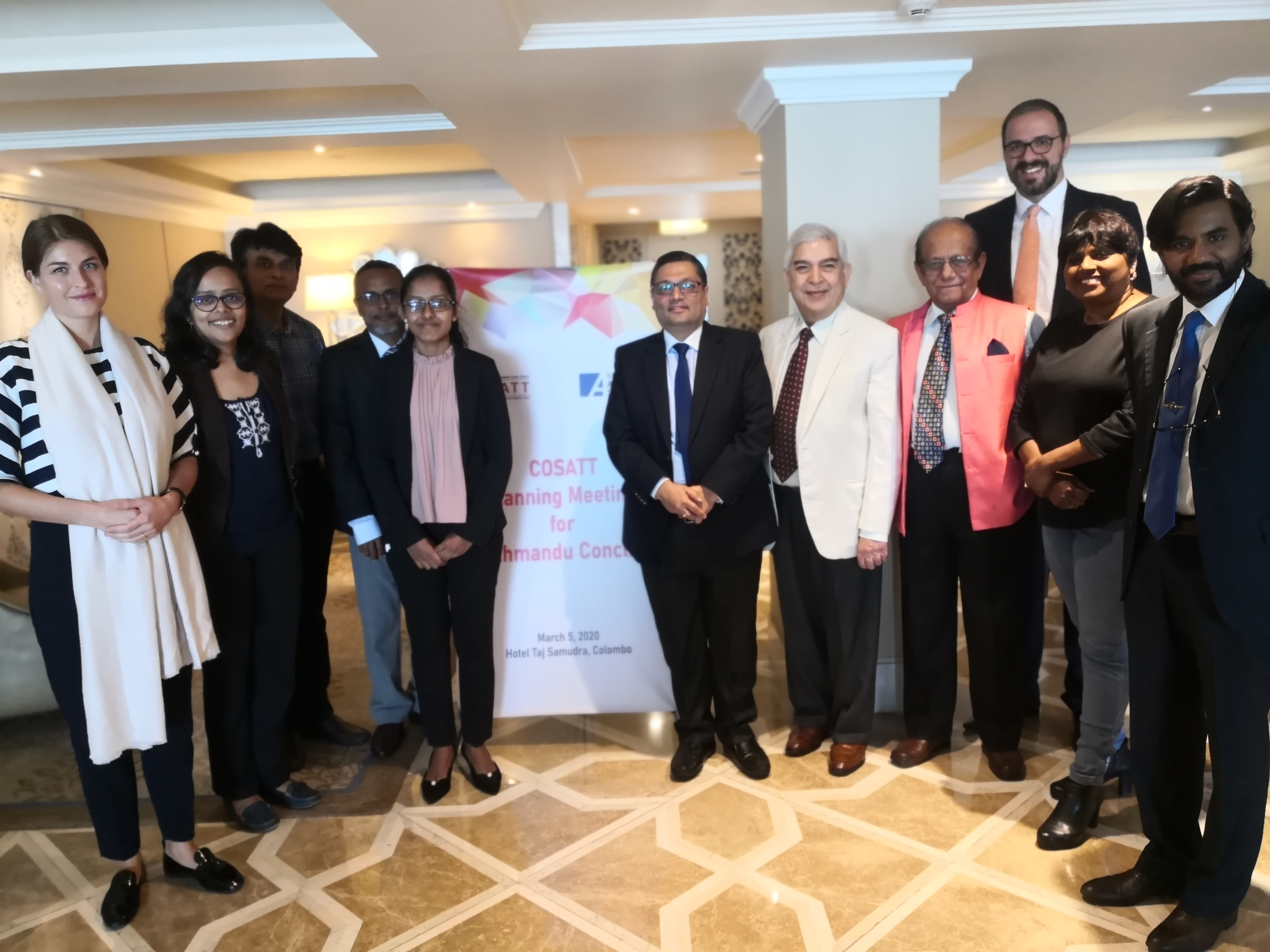 COSATT Planning Meeting on the proposed Kathmandu Conclave held in Colombo on March 5, 2020