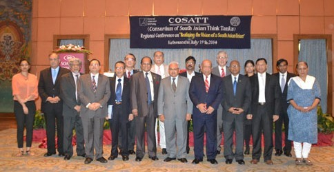 COSATT conference on Realizing the Vision of a South Asian Union
